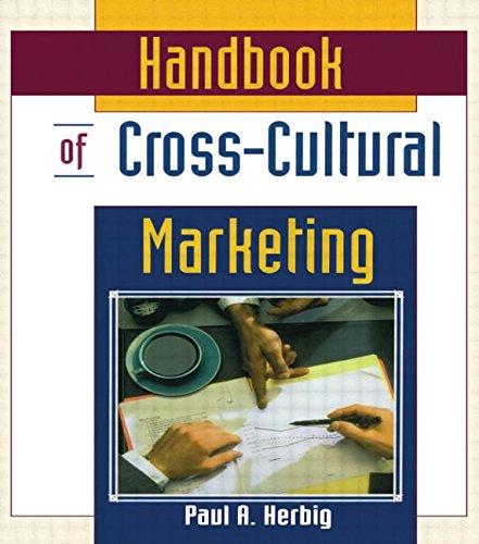 Handbook Of Cross Cultural Marketing