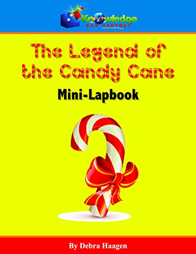 The Legend of the Candy Cane Mini-Lapbook -