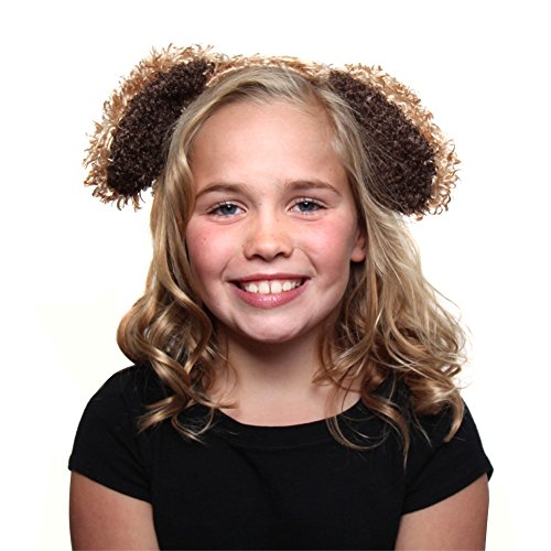 Brown Furry Puppy Headband and Tail (Dog Costumes For Kids)