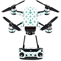 Skin for DJI Spark Mini Drone Combo - Teal Designer| MightySkins Protective, Durable, and Unique Vinyl Decal wrap cover | Easy To Apply, Remove, and Change Styles | Made in the USA