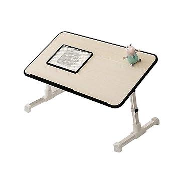 Cama, mesa pequeña, mesa plegable, computadora para hacer, mesa ...