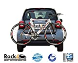 2 Bicycles rack for Smart Fortwo 453 cabrio – coupe (black) Review