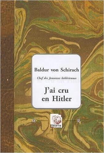 Telecharger Le Livre Anglais Pdf Gratuit J Ai Cru En Hitler