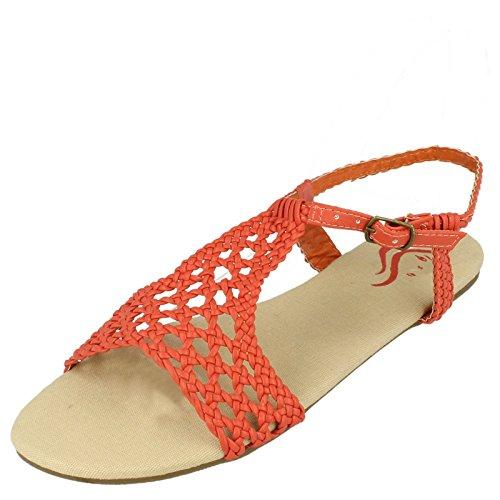 Spot On , Damen Sandalen Coral