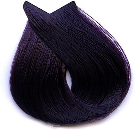 Tahe Lumière ExpressTinte de Pelo Profesional Coloración de Cabello Permanente Tinte Tono 4.77 Castaño Medio Violeta Intenso, 100 ml