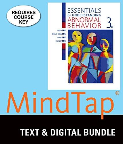 Bundle: Essentials of Understanding Abnormal Behavior, Loose-leaf Version, 3rd + LMS Integrated for MindTap Psychology,