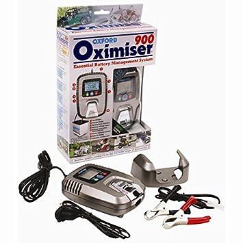 Original Oxford oximiser 900 batería Cargador of 571: Amazon.es: Coche y moto