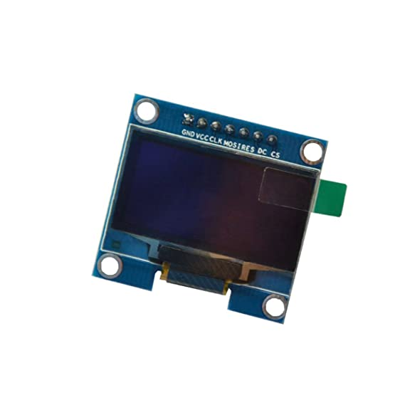 LANMU OLED Display Module,SPI I2C IIC 128X64 LCD LED Display Module for  Arduino UNO R3 STM 1 3 inch