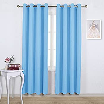Nicetown Bedroom Blackout Curtains Panels