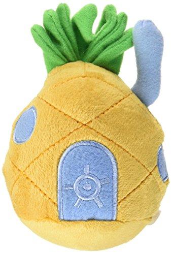 Penn Plax Spongebob Pineapple Home Plush Dog Toy