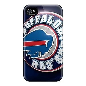 Bumper Hard Phone Case For Iphone 6plus (DMd15113Uppr) Custom Lifelike Buffalo Bills Series