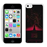 Ico & Shadow Of The Colossus White Shell Case for iPhone 5C,Luxury Cover