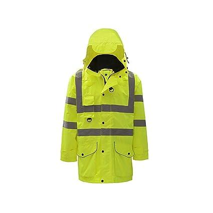 Amazon.com: ZHF-Rainwear Hi Viz Vis Chaleco reflectante de ...