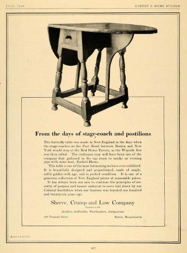 1926-ad-shreve-crump-new-england-butterfly-table-decor-original-print-ad