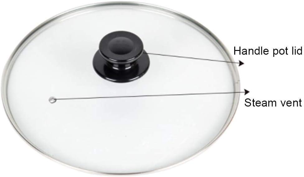 Orange 1500W Professioneller Antihaft-Kupfer-Wok 3L FUDIV Haushaltswaren Elektro-Wok Extra Deep Elektro-Pfanne