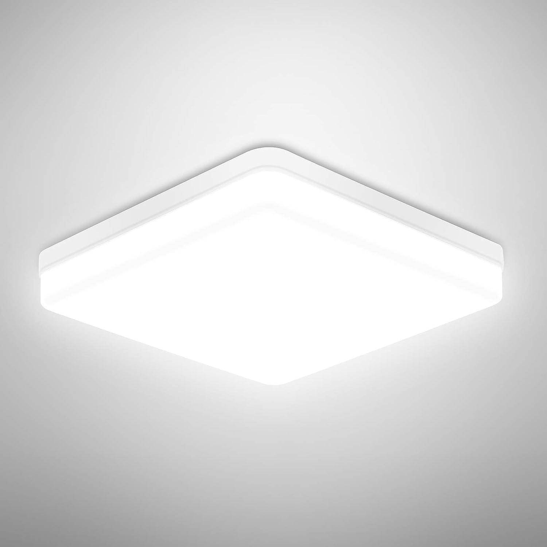 Led Deckenlampe 36W 3240LM Deckenleuchte für Wohnzimmer Schlafzimmer Kinderzimmer Büro Küche 6500K Kaltes Weiß [Energieklasse A+]