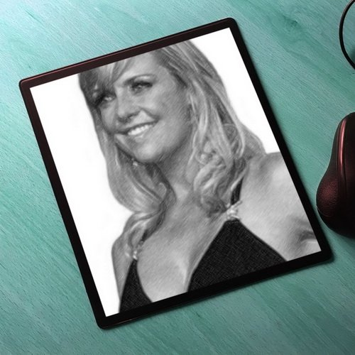 AMANDA TAPPING - Original Art Mouse Mat (Signed by the Artist) #js013