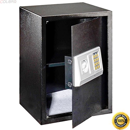 COLIBROX--Large Digital Electronic Safe Box Keypad Lock Security Home Office Hotel Gun New,best gun safe,best gun safe 2017,compact gun safe,cheap gun safe,replacement lock for gun cabinet by COLIBROX