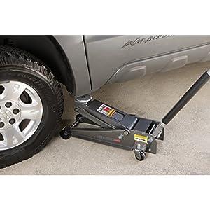 4 Ton Heavy Duty Floor Jack Steel Rapid Pump Lift Car Vehicle Garage Shop Repair