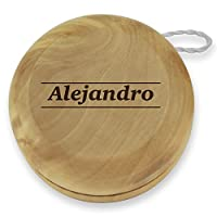 Dimension 9 Alejandro Classic Wood Yoyo with Laser Engraving