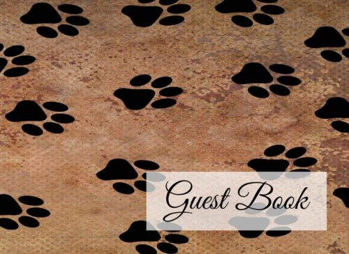 Guest Book: 104 Pages - Paperback (8.25 x 6 Inches) (Volume - Guest Cat Book