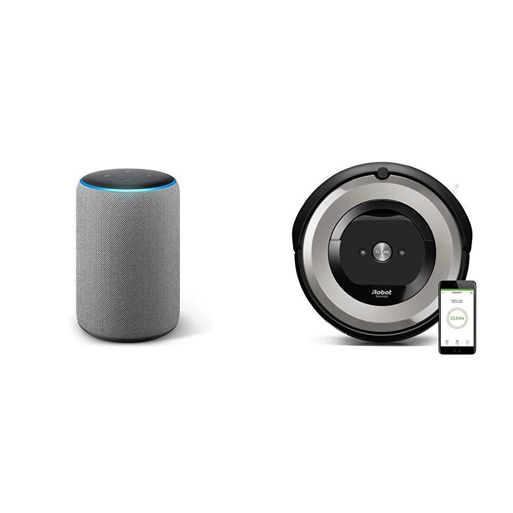 Echo Plus gris oscuro + iRobot Roomba e5154 - Robot Aspirador ...