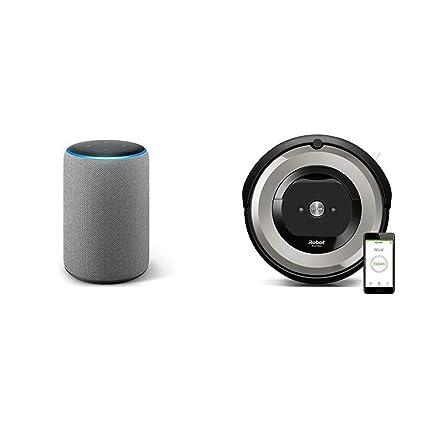 Echo Plus gris oscuro + iRobot Roomba e5154 - Robot Aspirador Óptimo ...