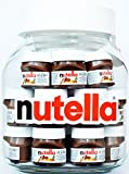 NUTELLA GLASS JAR, 21 Mini Nutella Jars inside with each 30 GRAMS, TOP GIFT