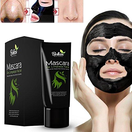 Mascara De Limpieza Facial Profunda Para Eliminar Espinillas - Mascarilla Negra De Purificacion Facial - Mascara De Barro Para La Cara