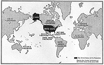 Amazon world american foreign interests possessions world american foreign interests possessions investment 1930 sketch map 1942 old gumiabroncs Images