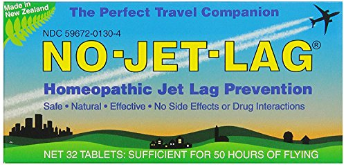 Miers Labs No Jet Lag Homeopathic Jet Lag Remedy, 32 - No Ingredients Lag Jet