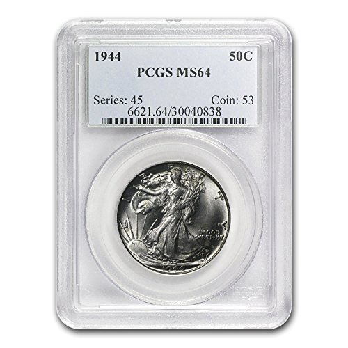 1944 Walking Liberty Half Dollar MS-64 PCGS Half Dollar MS-64 PCGS