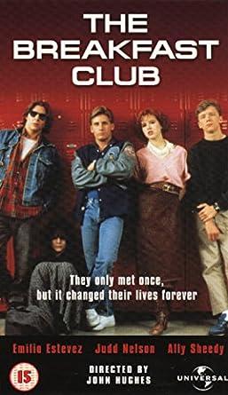 Breakfast Club [Reino Unido] [VHS]: Amazon.es: Emilio Estevez ...