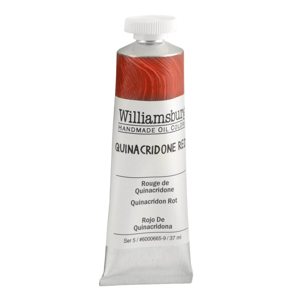 Williamsburg Oil 37Ml Quinacridone Red by Williamsburg B0006OJD2G 37 Ml Tube|Quinacridone Red Quinacridone Red 37 Ml Tube