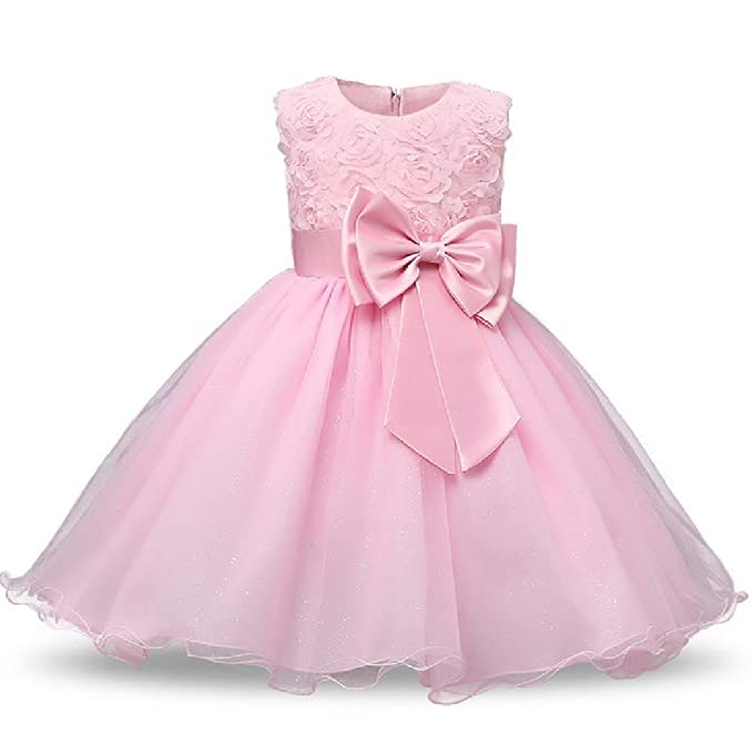 Flower Girls Dresses Children Ball Gown Princess Clothing Wedding Party Summer Kids Clothes Costume Teenager Prom