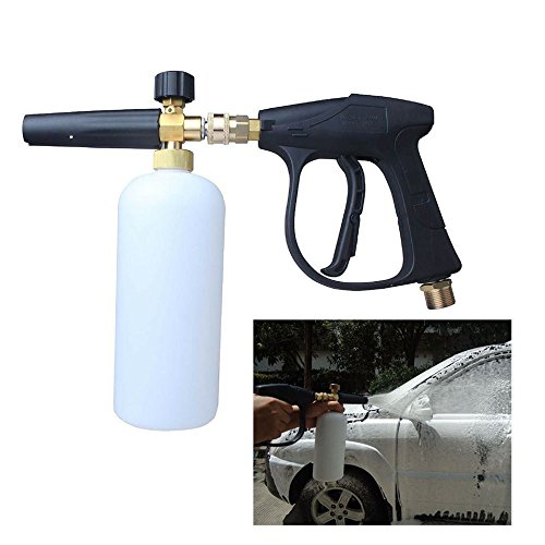 LTL Shop Foam Lance Snow Cannon Pressure Gun W/ Bottle Car Foamer Wash Quick Adapter - Outlet Stores El Paso In