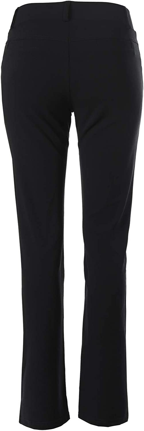 Design by Olivia Womens Solid Straight Cut Knit Crepe Office Dress Pants