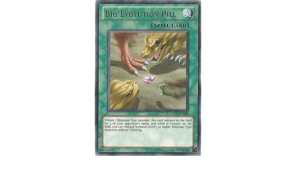 Amazon.com: Yu-Gi-Oh! - Big Evolution Pill (TU07-EN009) - Turbo Pack 7 - Unlimited Edition - Rare: Toys & Games