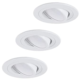 Cubierta de Reflectores Empotrables 3 Set | Lámpara LED 5w ...