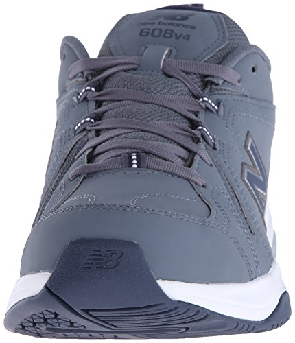 New Balance Herren MX608V4 Training Shoe, Dark Grey/Navy, 43 2E EU