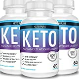 Keto Pure Diet - Advanced Ketosis Weight Loss Supplement (3 Month Supply)