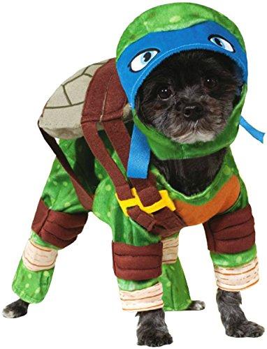 [Rubies Costume Company Teenage Mutant Ninja Turtles Leonardo Pet Costume, X-Large] (Animal Costume Party City)