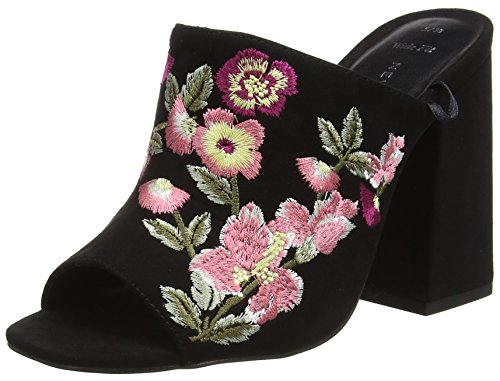 Scarpe Foot Donna 01 Look Spuntate Sash Wide Black New Nero 6xgnwBR
