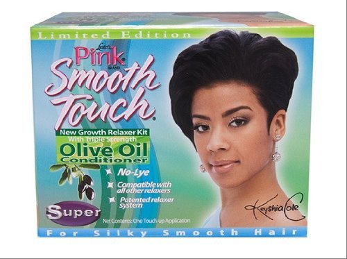 DDI Lusters Pink Regular Smooth Touch New Growth No-Lye Relaxer System Super- Case of - Case Regular Relaxer
