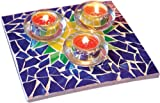 Jennifer's Mosaics Stained Glass Mosaic Trivet Kit