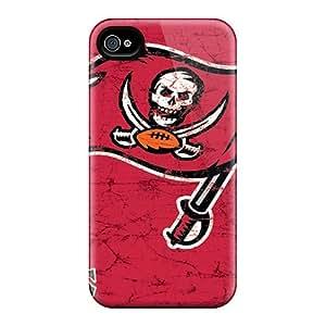 DrawsBriscoe Iphone 6 Shock-Absorbing Hard Phone Case Unique Design HD Tampa Bay Buccaneers Image [IBo17709DtOq]