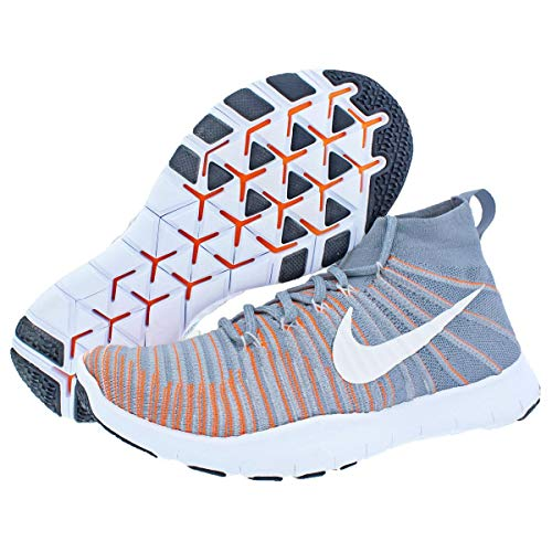 Homme Grey Sneakers Train Nike Force Total Free Orange Wolf Flyknit Iq0BX0