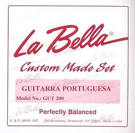 CUERDAS GUITARRA PORTUGUESA - La Bella (GUT 200) (13 Cuerdas ...