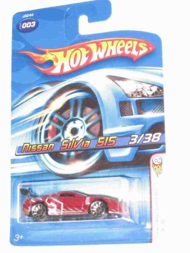 Hot Wheels 2006 First Editions #3 Nissan Silvia 515 10 Spoke Wheels Collectibles Collector Car 1:64 Scale