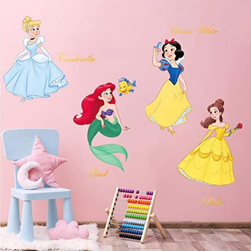 baby products, nursery, décor, wall décor,  stickers 11 discount decalmile Princess Wall Stickers Girls Wall Decals Baby deals